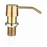 Дозатор для жидкого мыла, круглый, SSA-011 Gold (PVD)